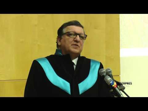 José Manuel Barroso, Doctor Honoris Causa, Universitatea de Vest Timișoara (UVT)