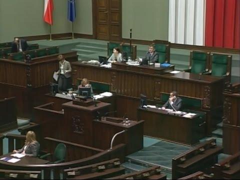 Płaca Minimalna W Niemczech, Wystąpienie W Sejmie Minister Maria Wasiak