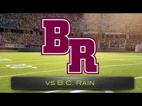 Benjamin Russell High School versus B.C. Rain