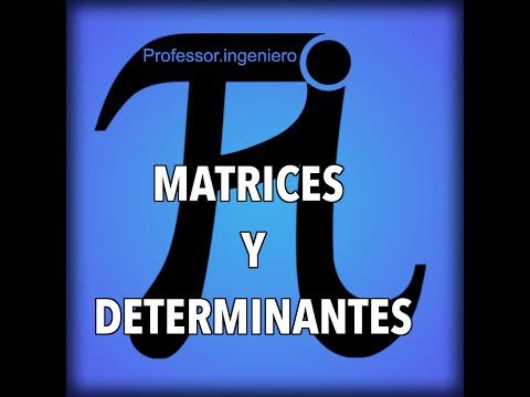 RANGO DE UNA MATRIZ por determinantes