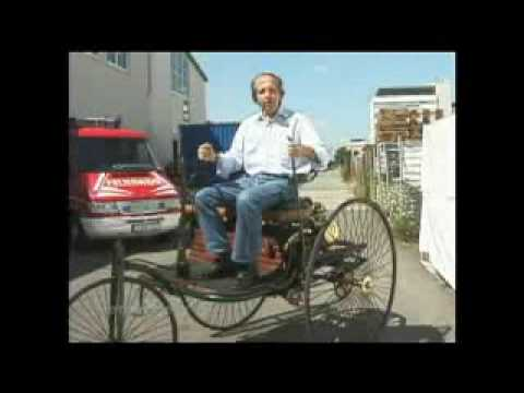 The first car ever running live! The Benz Motorwagen (1885) Mercedes Benz
