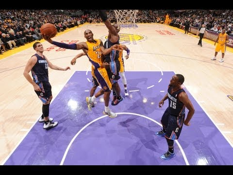 Kobe Bryant's Top 10 Plays of 2012