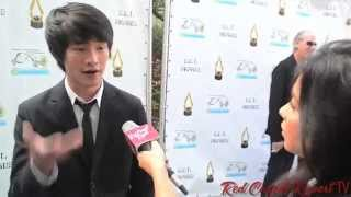 Christopher Larkin at the 4th Annual #SETAwards for Entertainment Media #EIC #The100