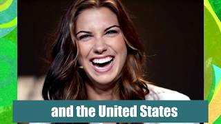 ALEX MORGAN - MOST BEAUTIFUL FEMALE FOOTBALLER 2016