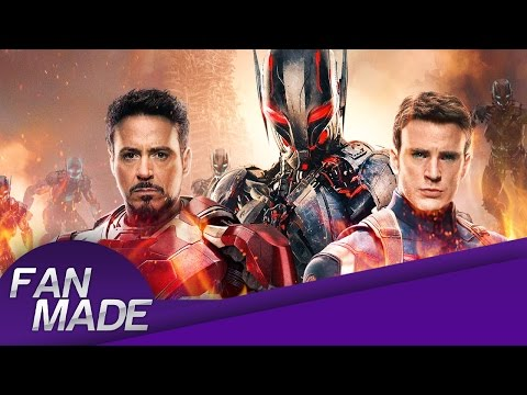 Fan - Made - Avengers: Age of Ultron - Trailer Recreation - Comic-Con - HD