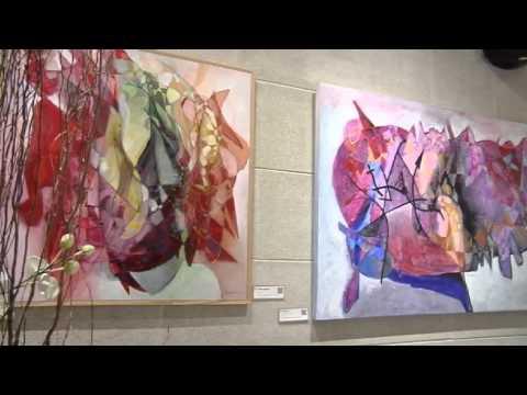 Exposici n pintores de allariz allariz videos la - Pintores en ourense ...