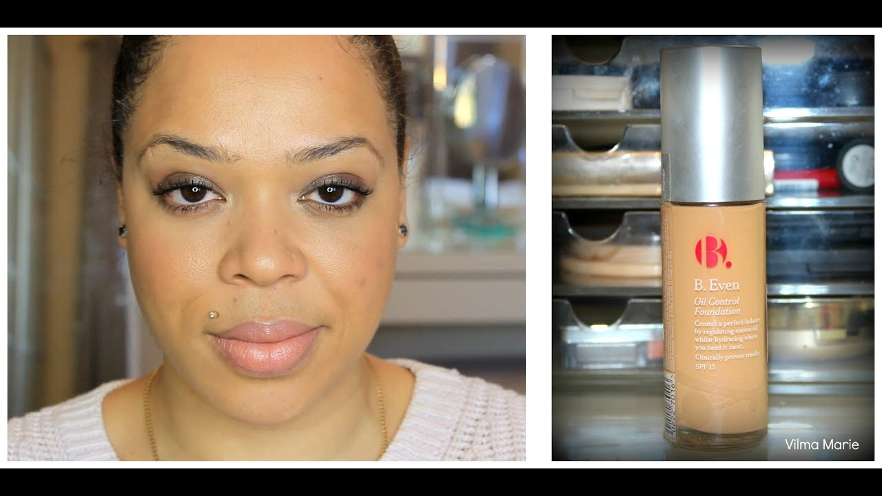 Oil Control Foundation Reviews b Even Oil Control Foundation