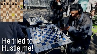 Magician Defeats NYC Chess Hustler!