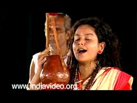 Baul Music Sufi Indian Music Parvathi Baul West Bengal India video