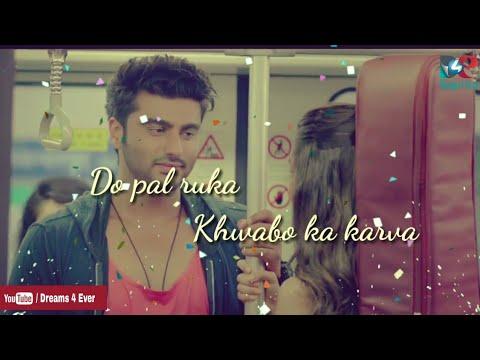 Do Pal Ruka Khwabo Ka Karva - Veer Jara❤WhatsApp Status Video❤ old Hit Romantic Heart Touching Song