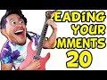 GUITAR AND MUSIC | Reading Your Comments #20