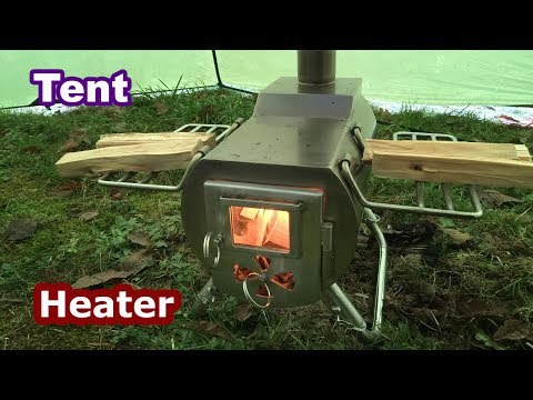 Gstove Tent Wood Stove Review   Portable Heater and Cooking Kit