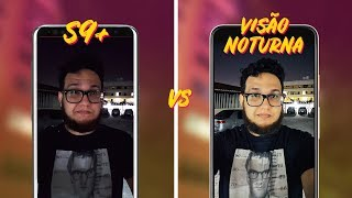 Galaxy S9+ vs Pixel 3 Camera App em Visão Noturna | @madebygoogle