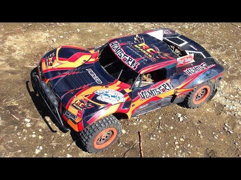 RC ADVENTURES - Losi 5ive T 4WD Off-Road 5th Scale Gas Powered Project Large 2.0 Season Teaser!
