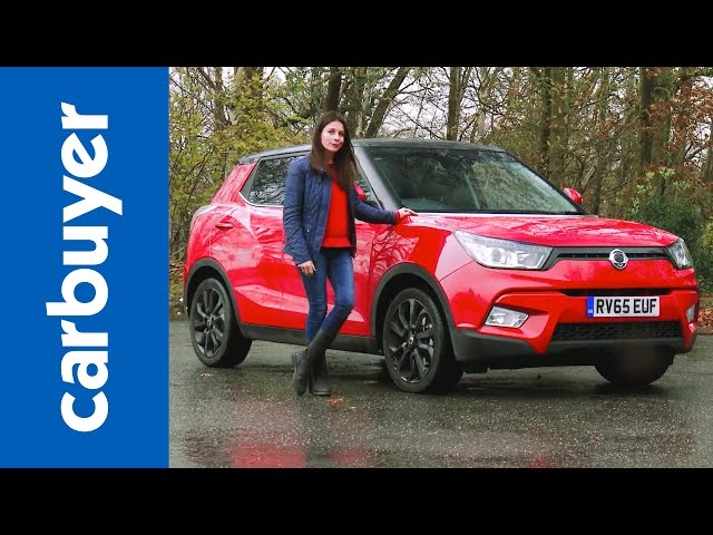 SsangYong Tivoli SUV review - Carbuyer - YouTube