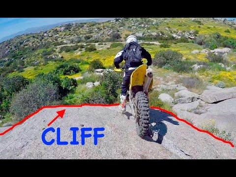 CLIFF JUMP GOES HORRIBLY WRONG!! (BROKEN BALLS)