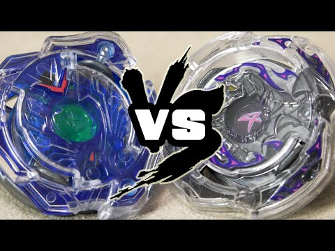 BATTLE: Valkyrie Wing Accel VS Deathscyther Oval Accel - Beyblade Burst Attack Types!