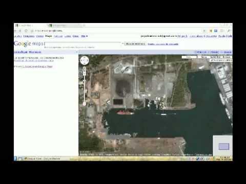 Latitud y Longitud en Google Maps | Latitude and longitude in Google Maps