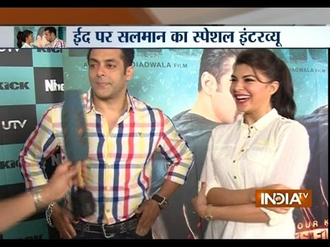 Exclusive Interview with Salman Khan: Eid luck works for 'Kick'
