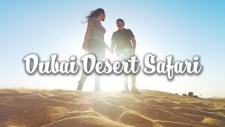 TRAVEL DUBAI VLOG - Desert Safari Tour #6
