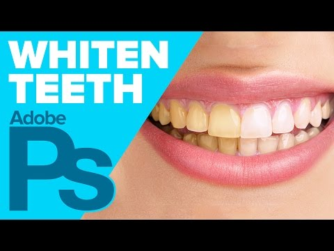 0 Photoshop: White Teeth in Photoshop (HD)