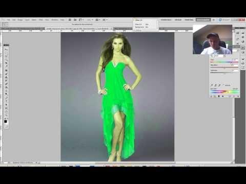 Dress Color.. Photoshop ile Kumas boyama