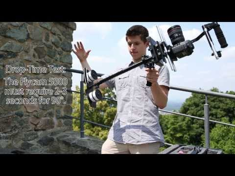 Flycam 5000 with Comfort Arm and Vest - Setup