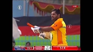 Mohammad Shahzad on Fire - 30 run over