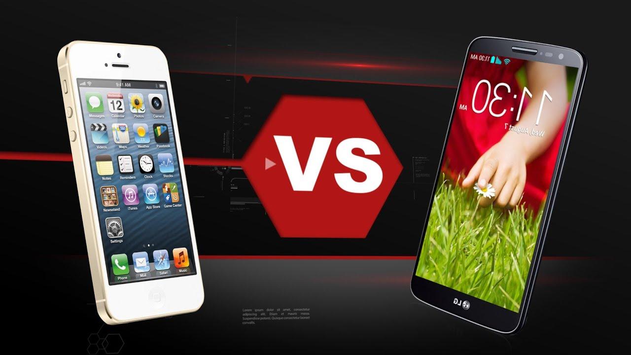 LG G2 Mini Vs. iPhone 5S - YouTube