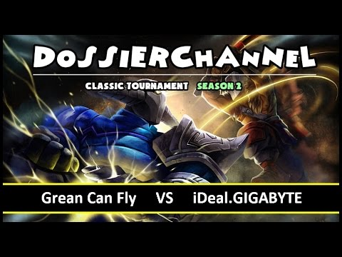 [ Dota2 ] Grean Can Fly vs iDeal.GIGABYTE - DossierChannel Classic Tournament Season 2 - Thai Caster