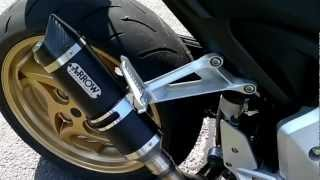CB1000R Arrow Thunder Sound - no dB + decat