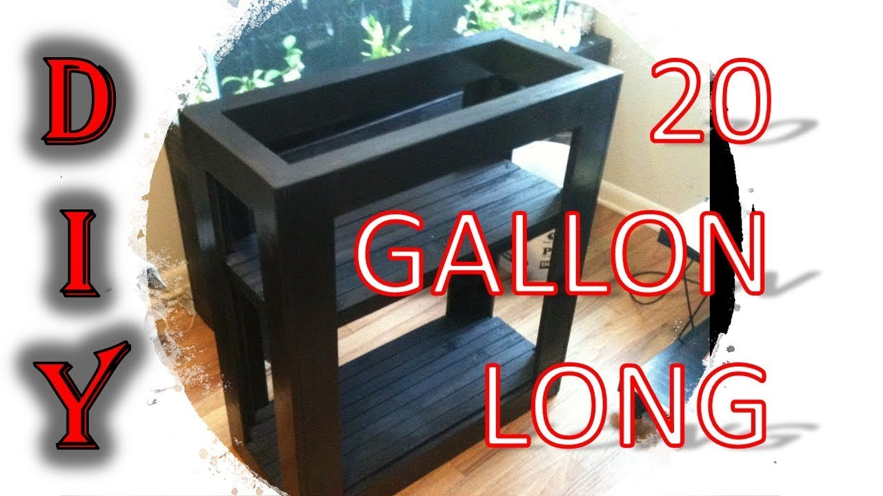 How To Build An Aquarium Stand 10 Gallon