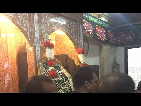 Sakina pyasi hai bibi nauha on 9th Muharram 1439 hijri, Mumbai , India