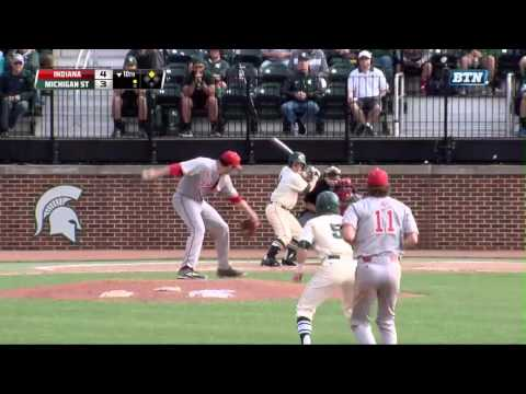 Indiana at Michigan State - Baseball Highlights