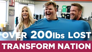 Transform Nation (Ep 7): Meet Grant. MAN WHO WEIGHED 626 LBS LOSES 200 LBS WATCHING EWL