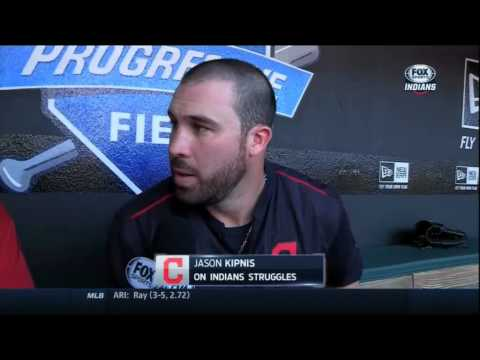 What did Jason Kipnis have to say after the Indians had a team meeting?