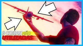 9 COISAS QUE DEIXARAM DE SER UTILIZADAS NO GTA 5 ONLINE :(