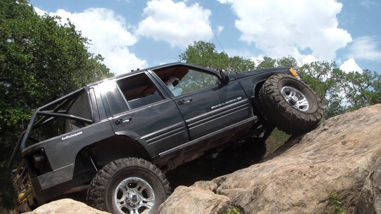 Ranch Jeep >> The SICK ZJ Rock Crawling at Long Ranch - YouTube