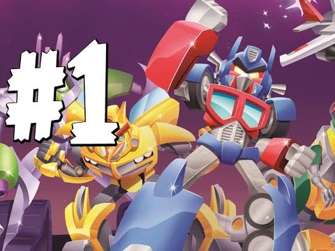 Angry Birds Transformers - Gameplay Walkthrough Part 1 -  Rescuing Bumblebee video