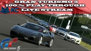 Gaming :Gran Turismo 5 100% Playthrough (60%) (PS3)Le Mans 24H  Endurance (Live Stream🔴 15/10/2018)