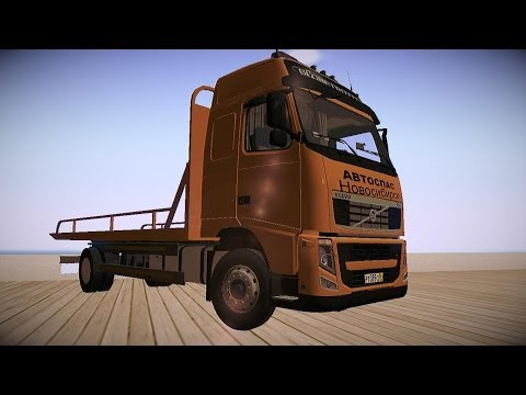 Volvo FH12 reboque