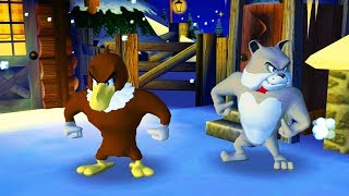 Tom and Jerry in War of the Whiskers - Tom and Jerry vs Spike vs Eagle - Tom & Jerry cartoon game