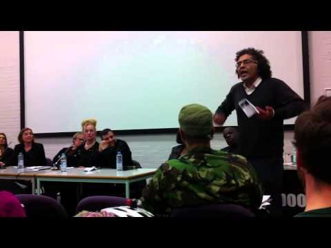Reza Moradi stands up to Islamists at Londonmet University