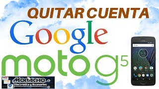 MOTO G5 TX1791 Borrar Cuenta Google Sin PC Bypass Account ANDROID 7.0