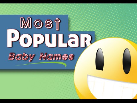 Most Popular Baby Names – Top 100 Baby names list from around the World! (2015-Video)