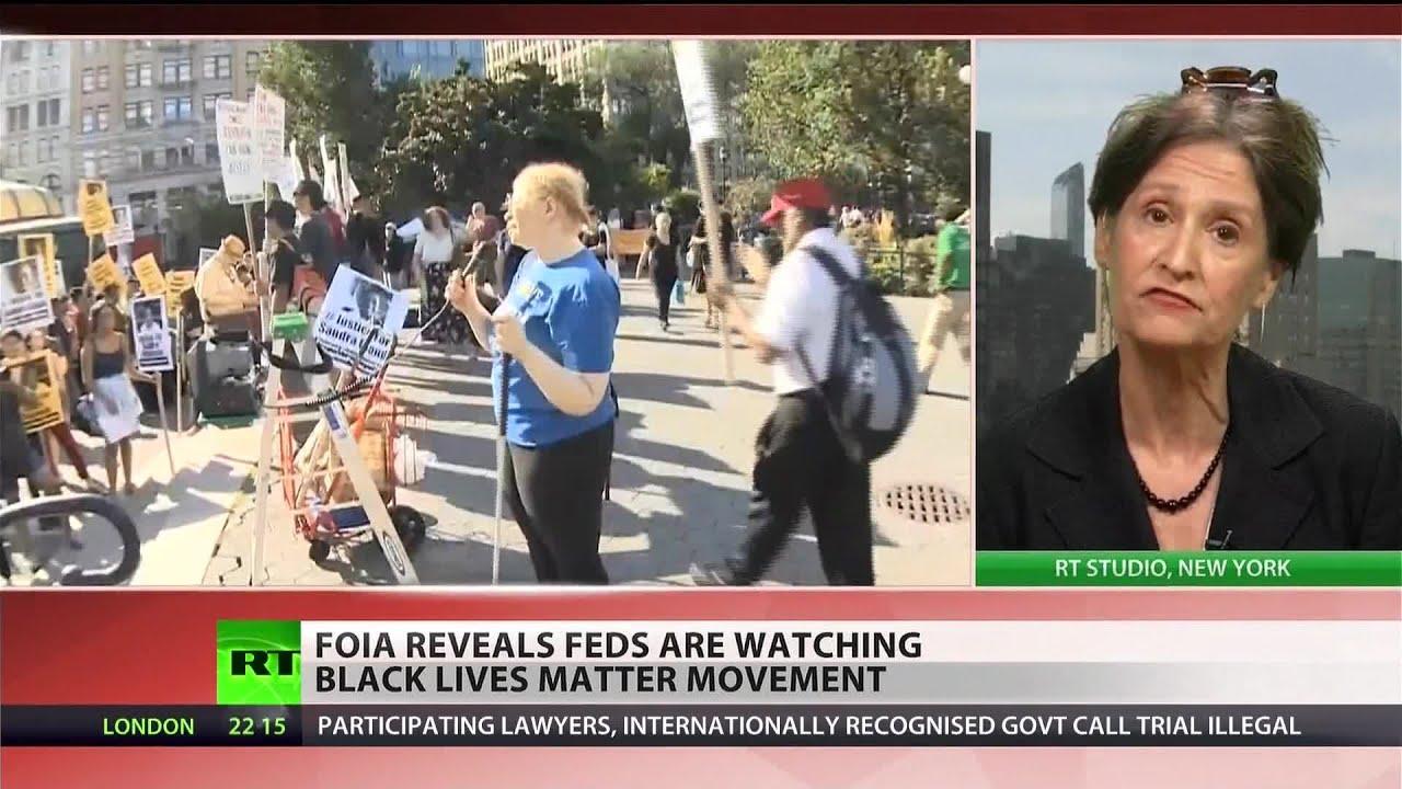 DHS, FBI spying on 'Black Lives Matter' movement