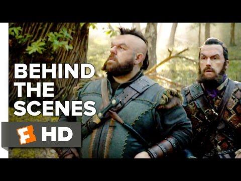 The Huntsman: Winter's War Behind the Scenes - Becoming Dwarves (2016) - Nick Frost Movie