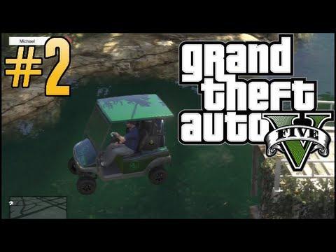 GTA V Free Roam - Part 2 - Worst Golfer Ever!