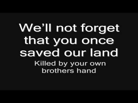 Sabaton -  Hail To The King (lyrics) HD