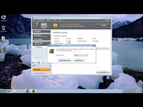 AVG free antivirus prevention test